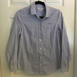 Vineyard Vines Seersucker Button Up Shirt